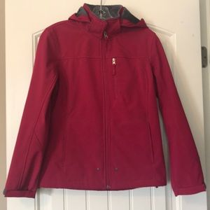 Pink Free Country Soft Shell Jacket Size Small